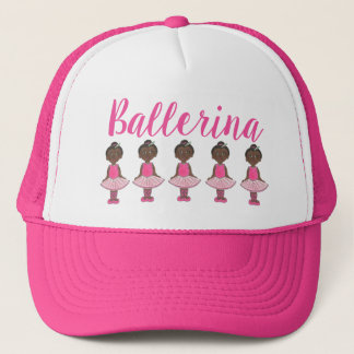 Ballerina-rosa Truckerkappe