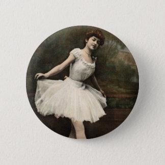Ballerina Runder Button 5,7 Cm