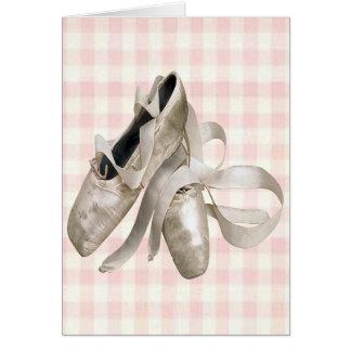 Ballerina-Schuhe Karte