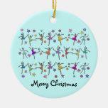 Ballerina-Tanz-Verzierung Weihnachtsbaum Ornamente