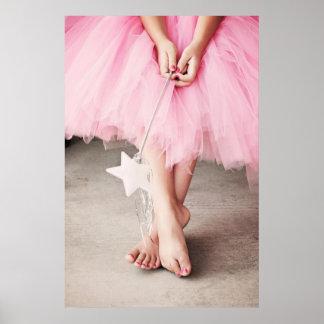 Ballerina-Zehen Poster