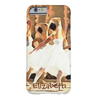 Ballerinen auf Bühne-Ballett-Gewohnheit Barely There iPhone 6 Hülle