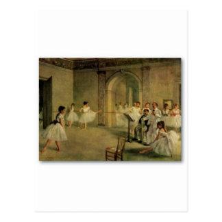 Ballerinen durch Edgar Degas Postkarte