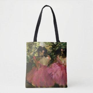 Ballerinen im Rosa durch Edgar Degas Tasche