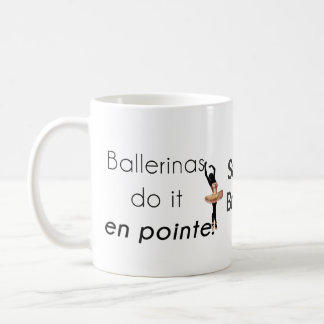 Ballerinen so es! kaffeetasse