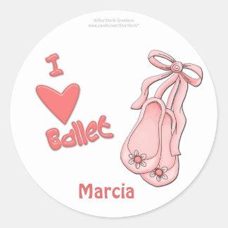 Ballett-Aufkleber