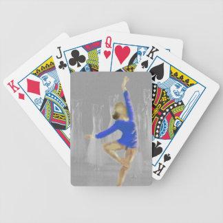 Ballett-Drehungs-Kunst Bicycle Spielkarten