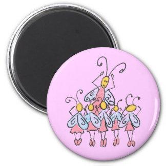 Ballett hört Magneten ab Runder Magnet 5,7 Cm