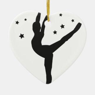 Ballett Keramik Ornament