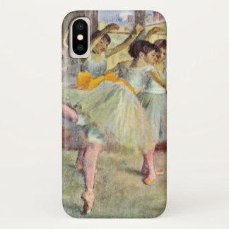 Ballett-Klasse, der Tanz Hall durch Edgar Degas iPhone X Hülle