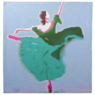 Ballett-Kleiderkunst Stoffserviette