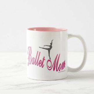 Ballett-Mamma-Tasse Zweifarbige Tasse