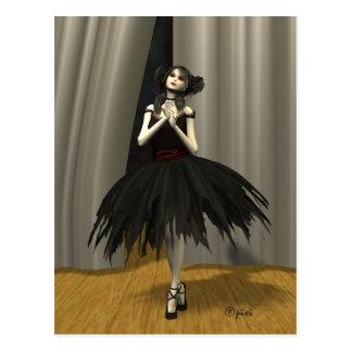 """Ballett Noire"" Postkarte"
