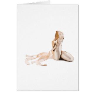 Ballett Pointe beschuht Karten