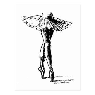 Ballett Postkarte