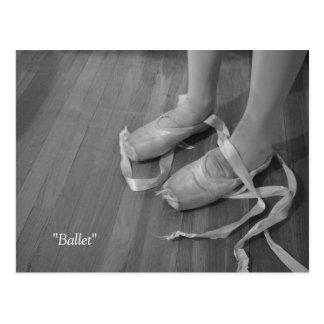 Ballett-Postkarte