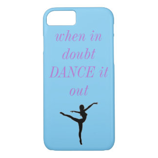 Ballett-Tanz-Telefon-Kasten iPhone 8/7 Hülle