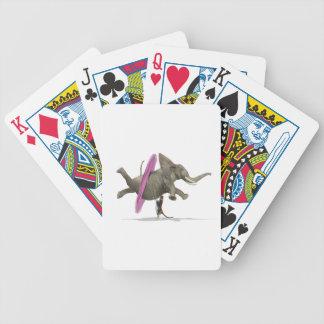 Ballett-Tanzen-Elefant Bicycle Spielkarten