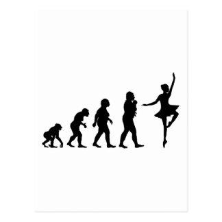 Ballett-Tanzen Postkarten