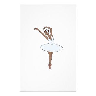 Ballett-Tänzer Briefpapier