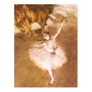 Ballett-Tänzer entgasen Postkarte