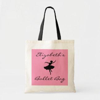 Ballett-Taschen-Ballerina-Rosa Tragetasche