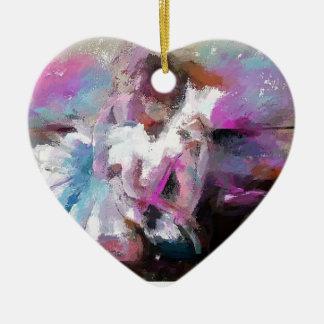 Ballett-themenorientierte Geschenke Keramik Ornament