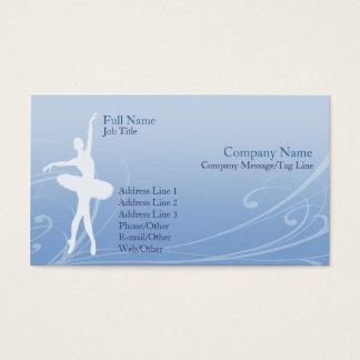 Ballett-Visitenkarte Visitenkarten