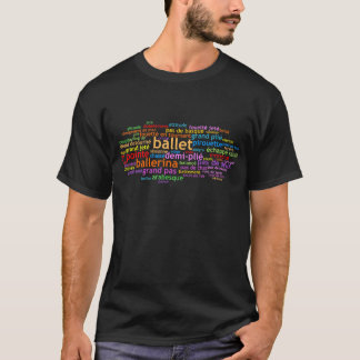 Ballett Wordle T-Shirt