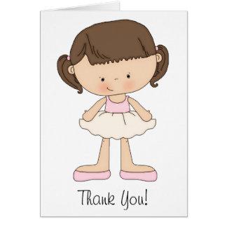 Balletterwägungsgrundenkarten und danken Ihnen Karte