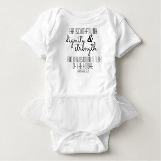 Ballettröckchen-Bodysuit der Sprichwort-31 Baby Strampler