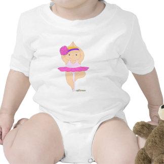 Balletttänzer-Baby Baby Strampelanzug