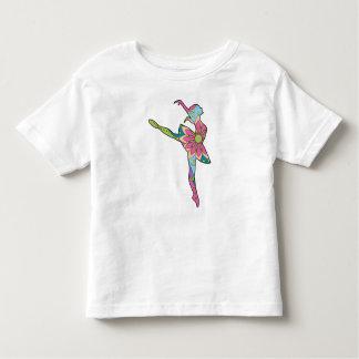 Balletttänzer bunt kleinkind t-shirt