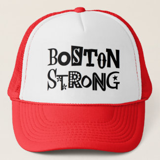 Ballkappe, -ROT und -WEISS Bostons starke Truckerkappe