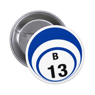 Ballknopf des Bingo-B13 Runder Button 5,7 Cm