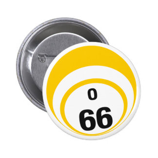 Ballknopf des Bingo-O66 Runder Button 5,7 Cm