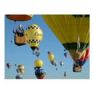 Ballon ABQ-2005-6 Postkarte