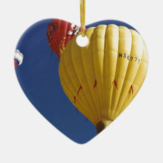 Ballon-Festival Keramik Herz-Ornament