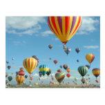 Ballon-Fiesta Albuquerque Postkarte