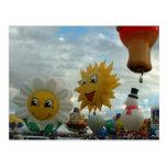 Ballon-Fiesta-Albuquerquespecial-Formen Postkarte