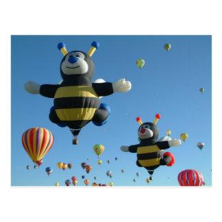 Ballon-Fiesta Postkarte