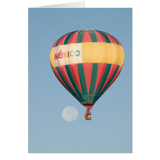 Ballon-Fiesta über dem Mond Karte