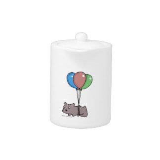 Ballon-Hamster-Frank durch Platte-O-Matic