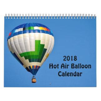 Ballon-Kalender der Heißluft-2018 Abreißkalender