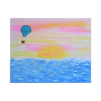 Ballon Leinwanddruck
