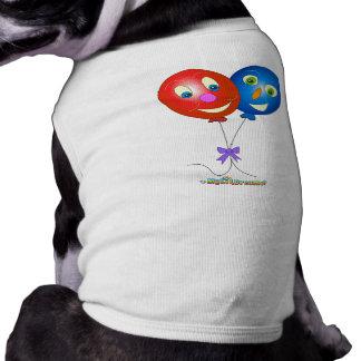 Ballon-Lieferungs-Hund Hund Tshirts