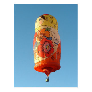 Ballon Matroesjka Postkarte