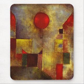 Ballon-Mausunterlage Paul Klees rote Mauspad