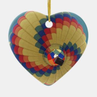 Ballon-Produkteinführung Keramik Herz-Ornament