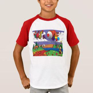 Ballone im Himmel T-Shirt